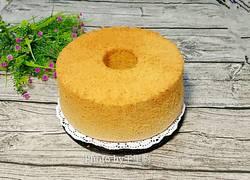 伯爵奶茶戚风蛋糕