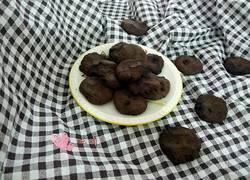 可可巧克力饼干