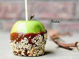 花生巧克力焦糖苹果的做法[图]