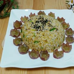 蟹肉黄金炒饭