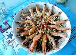 蒜茸粉丝虾
