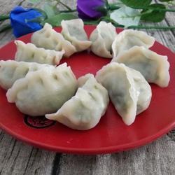 山韭菜鸡蛋饺子