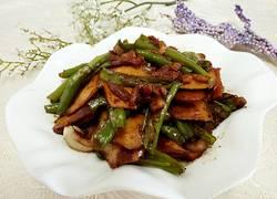 杭椒肉丝炒茶干