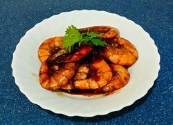 茄汁豉油蝦