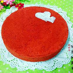 红丝绒戚风蛋糕(六寸)