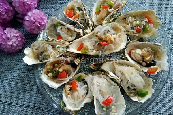 粉丝蒸牡蛎