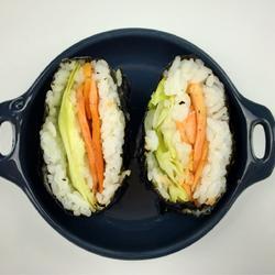 烟熏鲑鱼生菜
