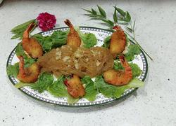 沙拉粉丝琵琶虾