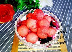 西瓜蓝莓酸奶