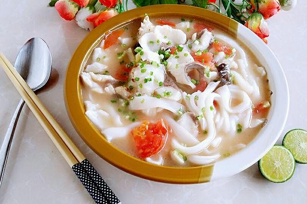 西红柿鱼汤粉