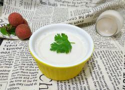 荔枝酸奶冻