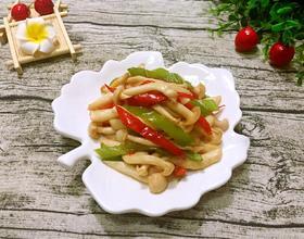 蚝油炒海鲜菇