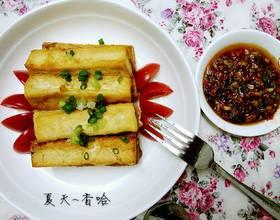 香煎脆皮豆腐