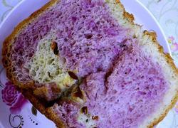双色紫薯枸杞手撕吐司面包