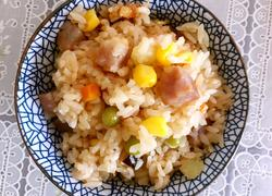 自制广式腊肠焖饭
