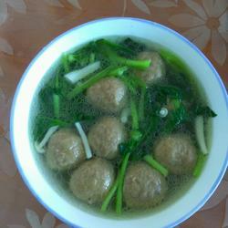 撒尿牛丸蔬菜汤