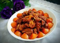 红烧羊肉胡萝卜
