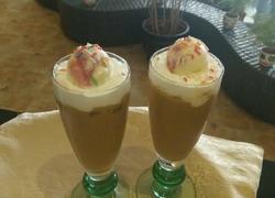 冰淇淋冰咖啡