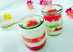水果酸奶冻