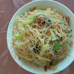 台州小吃炒米面的做法[图]