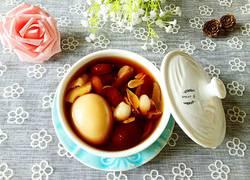 红枣百合姜蛋红糖水