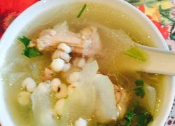 老鸭冬瓜薏米汤