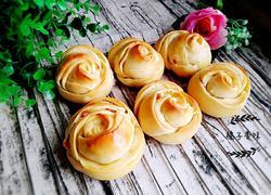 玫瑰火腿小面包