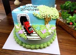 托马斯情景蛋糕
