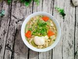 丝瓜豆腐皮鸡蛋面的做法[图]