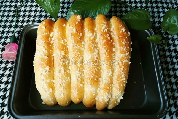 奶酥粒排包