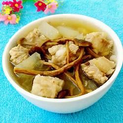 茶树菇冬瓜排