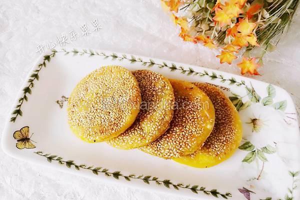 芝香豆沙南瓜饼〈电饼铛版〉