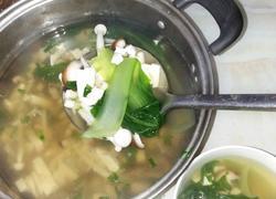蘑菇豆腐汤