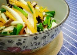 素炒双菇胡萝卜