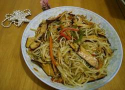 香干豆芽菜