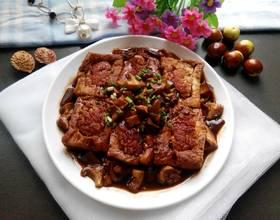 香菇豆腐镶肉
