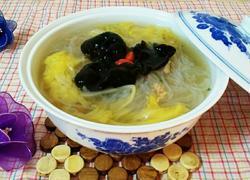 海米白菜粉丝汤