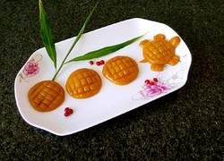 小乌龟蜕壳南瓜饼