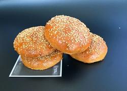 芝麻全麦汉堡胚