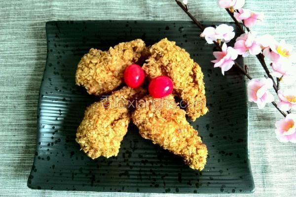 燕麦炸鸡翅根