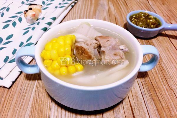 排骨杂粮菌汤