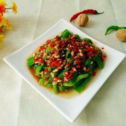 红辣椒酱拌丝瓜