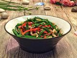 韭菜苔炒肉的做法[图]