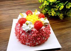 草莓松露水果蛋糕