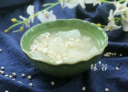 简单方便的消暑冬瓜薏米糖水
