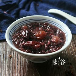 红枣桂圆黑米