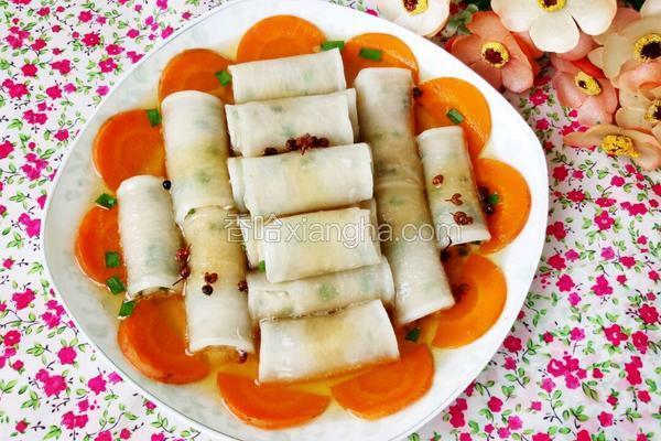 猪肉白萝卜卷