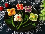 五色花蒸饺的做法[图]