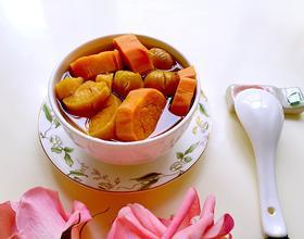 红薯栗子糖水[图]