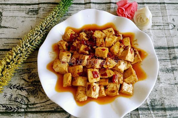 麻婆豆腐(自制辣酱版)